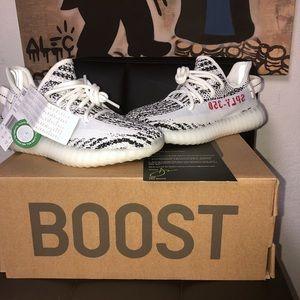 Adidas Yeezy Boost 350 Zebra Womens Size 5 ✅‼️